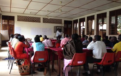 Peer training for HIV/AIDS prevention in Uganda